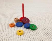 enfants-laine-de-chambre-tapis-moelleux