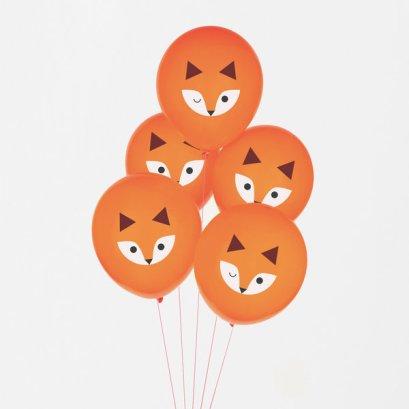 decoration-de-anniversaire-enfant-ballons-renard-mignons-my-little-day