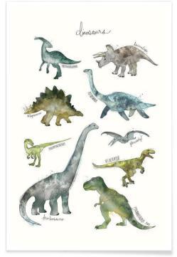 Dinosaurs-Amy-Hamilton-Affiche