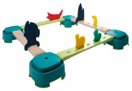 parcours baby gym